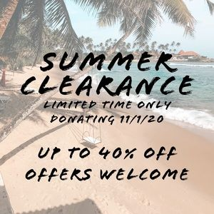 🏝Summer is over - get deals on great items!